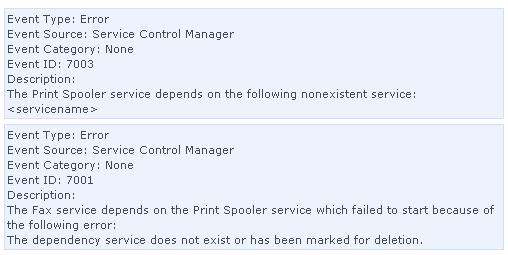 how to fix 1068 error