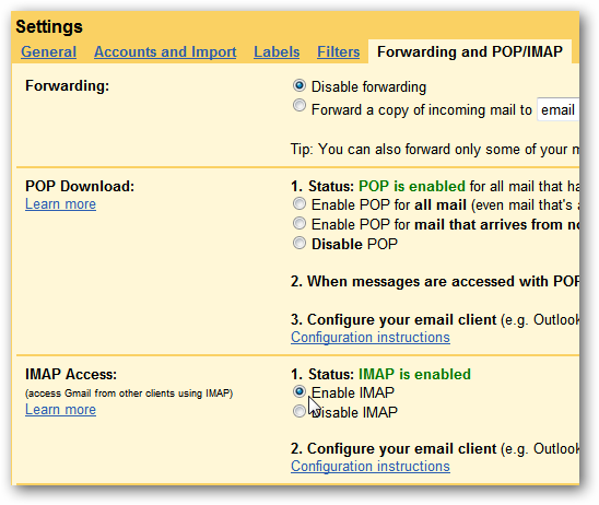 how to find smtp server name in outlook 2010