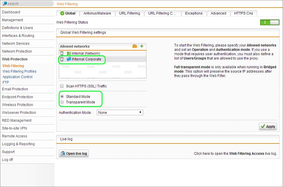 Hướng dẫn cấu hình Sophos UTM High Availability (HA) Cluster trên