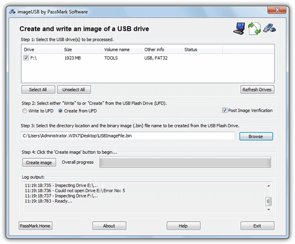 Portable Tools To Make Full Image Backup Of Usb Drives