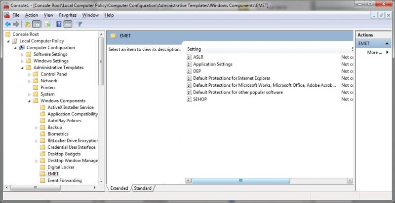 Emet To Protect Client Server Systems Microsoft Heelpbook