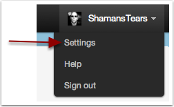 how to change delete twitter account