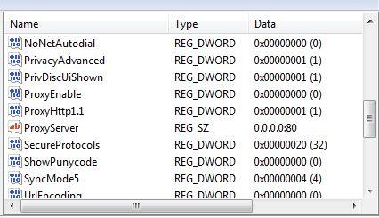 Modify Your Proxy Settings For Internet Explorer Vbscript Heelpbook