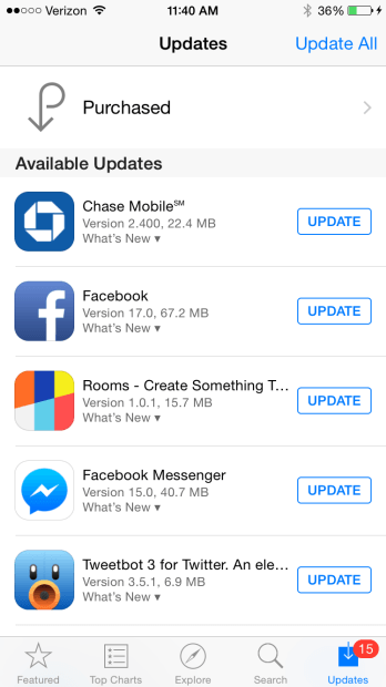 turn off automatic updates iphone turn auto update app in ios on iphone and heelpbook 18099
