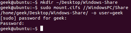 Share Files Between Windows and Linux