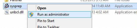 Generate New SID (Windows Server 2012)
