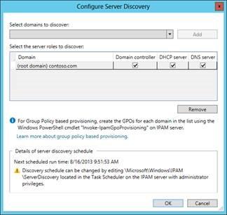 IP Address Management (IPAM) (Windows Server 2012)