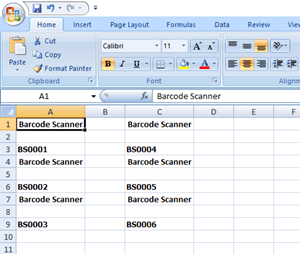 Create Barcode without Third Party Software (Microsoft Excel)
