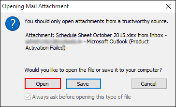 Print Email Attachments without opening the message (Microsoft Outlook)
