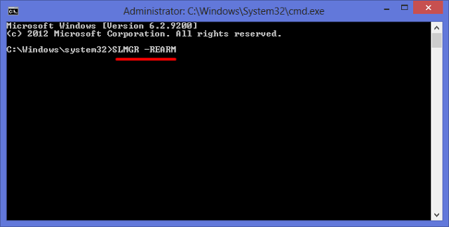Use SLMGR to change, remove, or extend Windows License