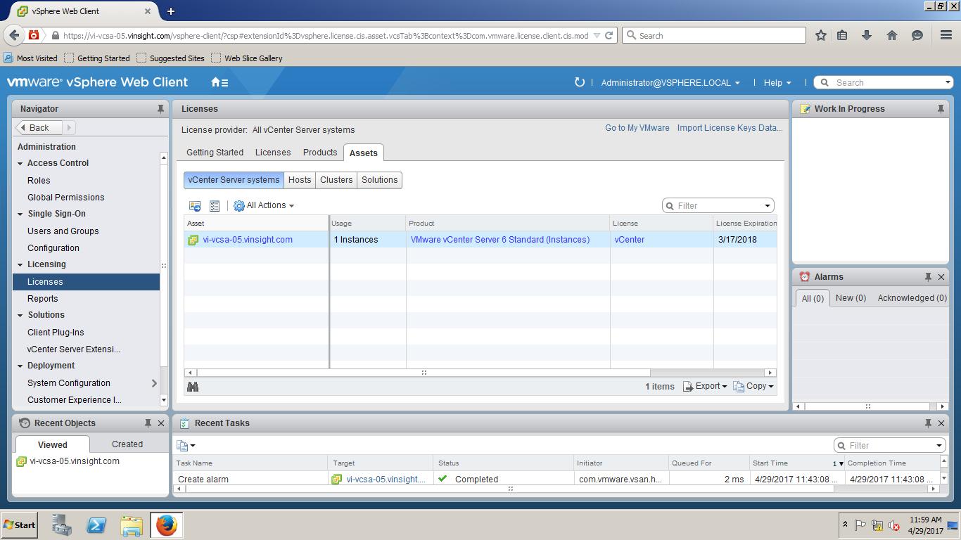 Assign license key to vcenter server vmware vsphere 6 5 - Impossibile avviare microsoft outlook impossibile aprire la finestra di outlook ...