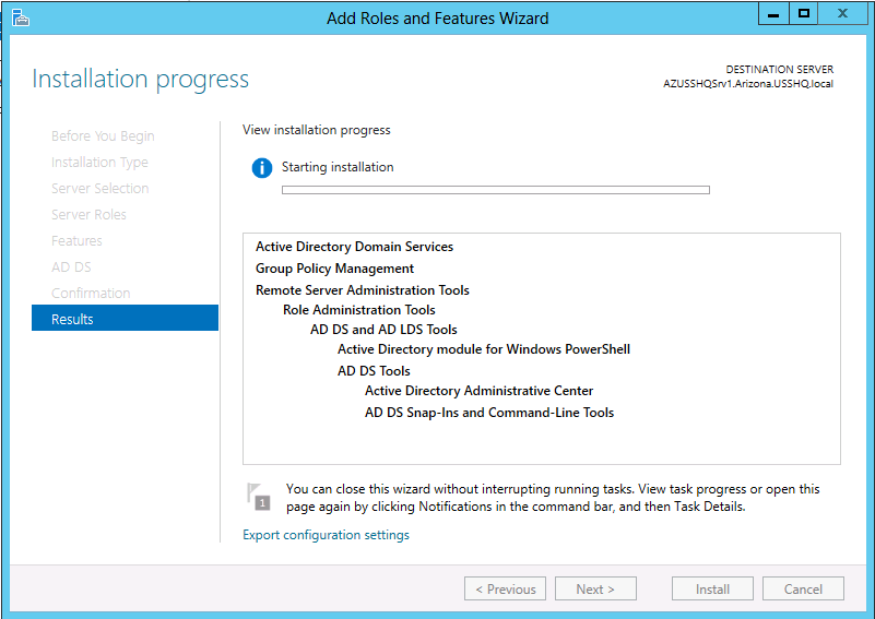 Add a Child Domain in existing Directory Domain Services (AD DS) forest (Windows Server 2012)