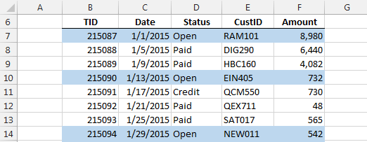 Excel - Conditional Formatting based on another Cell