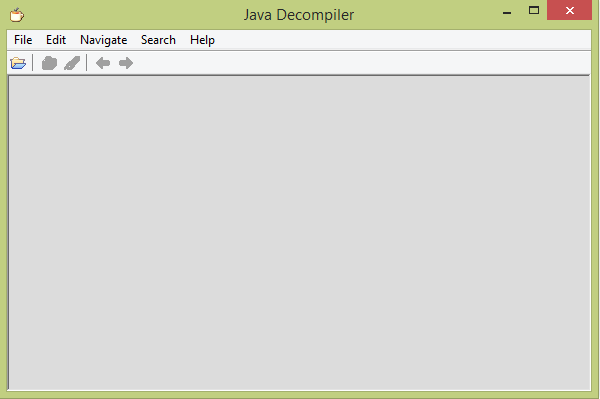 Java - Decompile JAR files and view Source Code
