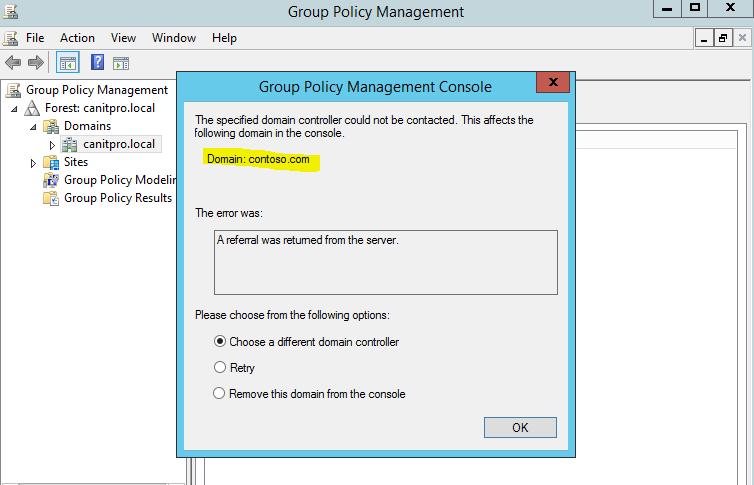 Renaming Active Directory Domain Name (Microsoft)