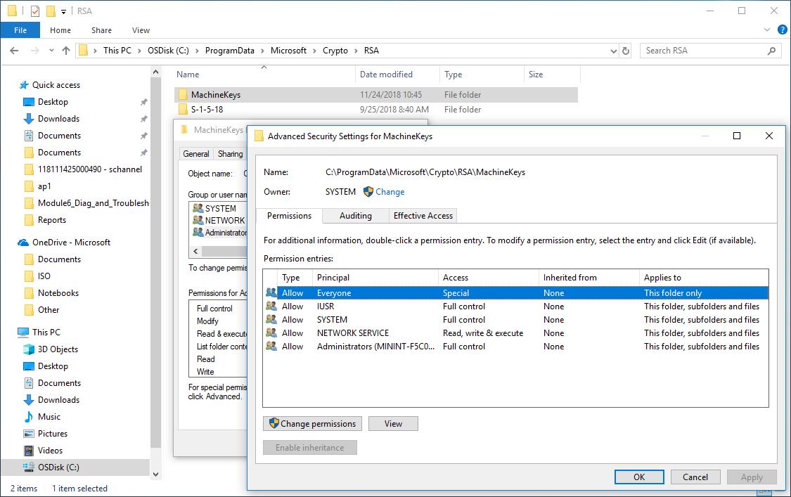 Internet Explorer 11 – SChannel – The internal error state is 10013