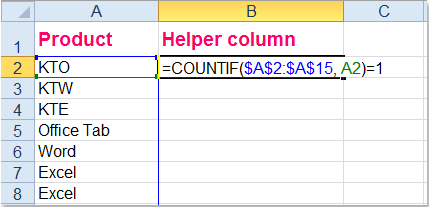 Excel - Remove Everything But Duplicate Rows