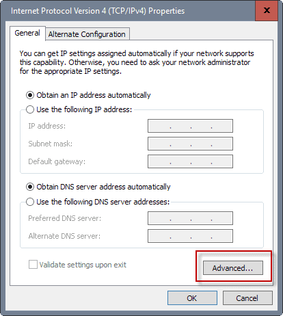 Windows 10 - Change Network Adapter Priorities