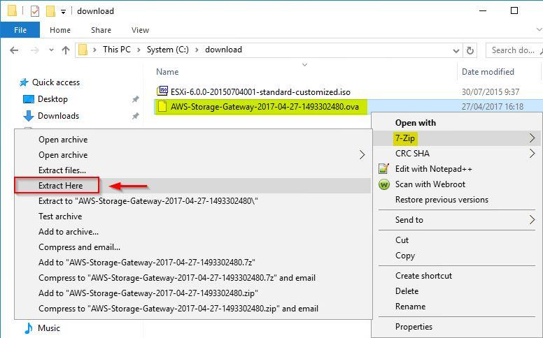 VMware - OVF ha un manifest file non valido
