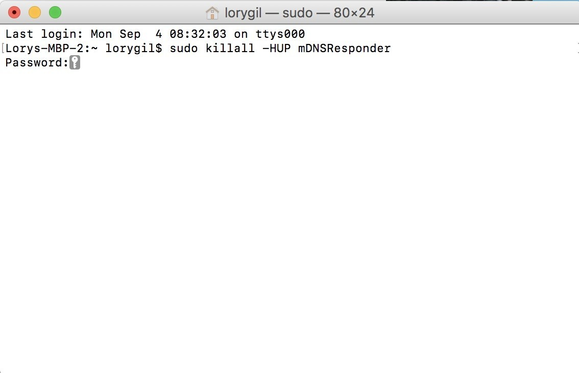 MacOS - Edit hosts file